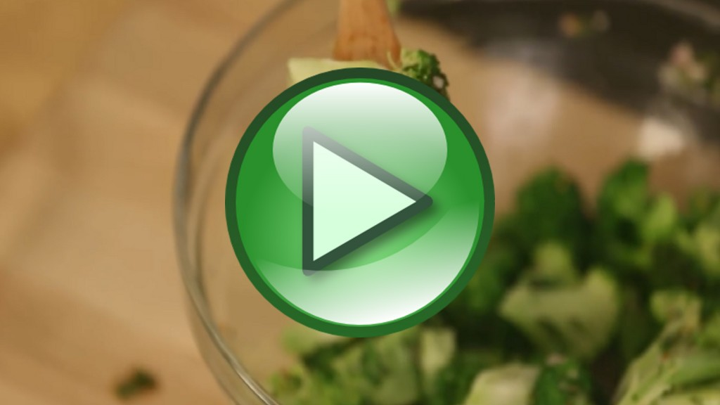 Healthy Cooking Videos: How to Cook Vegetables