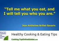 Healthy Cooking & Eating Quote #2