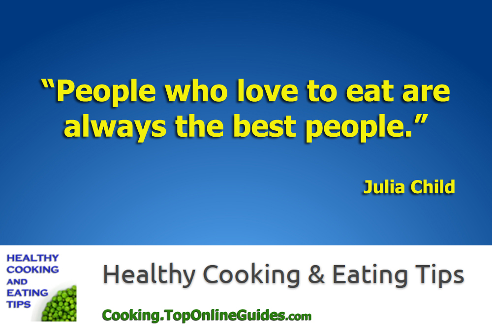 Healthy Cooking & Eating Quote #3